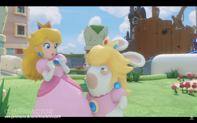 Rabbid Peach er slagkraftig i Mario + Rabbids Kingdom Battle