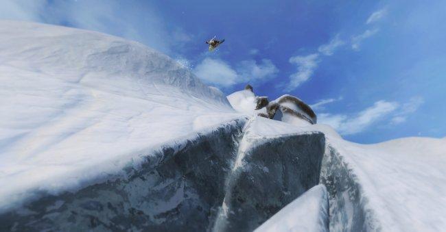 Shaun White Snowboarding