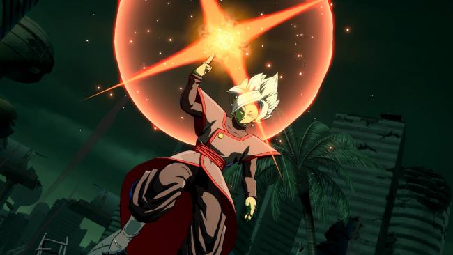 Fused Zamasu vist frem i Dragon Ball FighterZ
