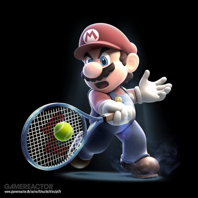 Slå som Djokovic i Mario Sports Superstars-trailer
