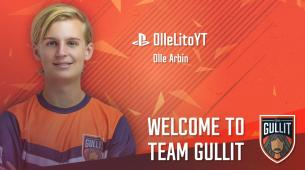 Team Gullit signs 16-year-old FIFA player Olle Arbin