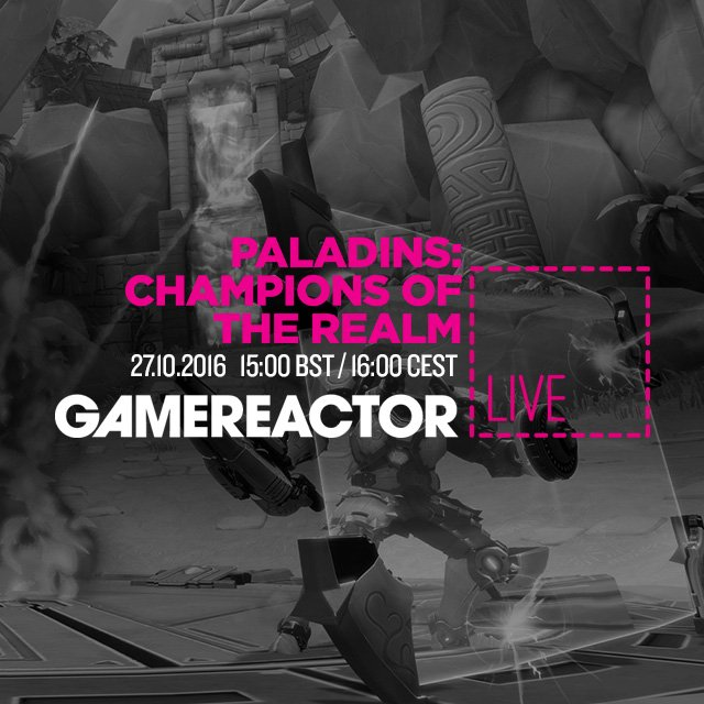 GR Live spiller Paladins: Champions of the Realm