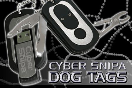 Cyber Snipa Dog Tag