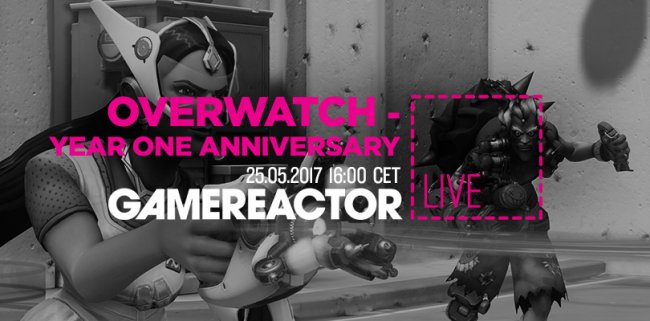 GR Live tester Overwatch' Anniversary-event
