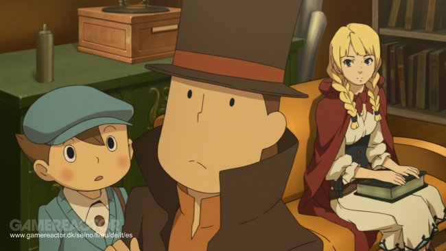 Level-5 bekrefter nytt Professor Layton