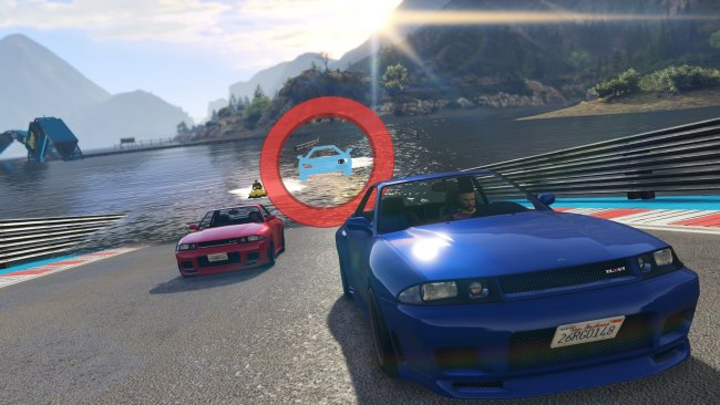 Grand Theft Auto V sin nye Transform Races-modus vist frem