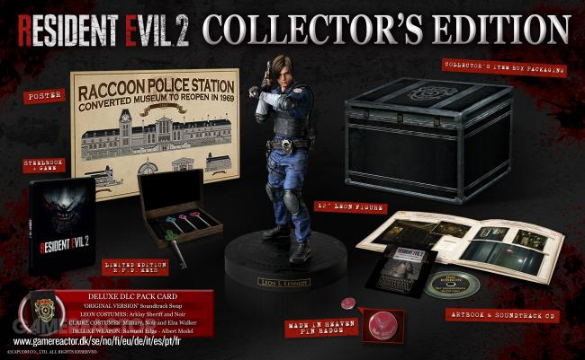 Resident Evil 2 Remake får lekker Collector's Edition