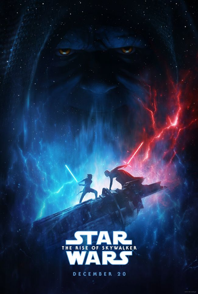 Se den nye plakaten fra Star Wars: The Rise of Skywalker