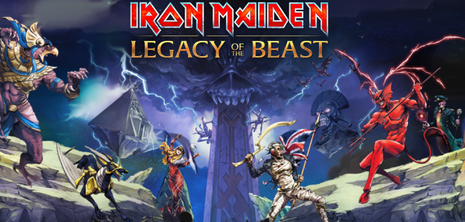 Trooper Eddie kommer til Legacy of the Beast