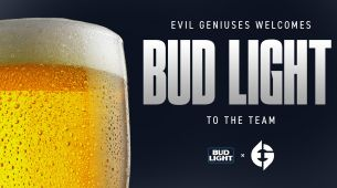 Evil Geniuses announce partnership with Bud Light