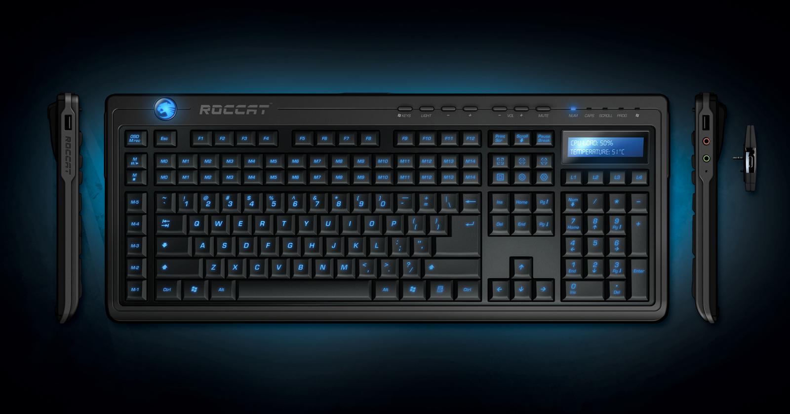 Roccat Valo snart på gata Roccat Valo Gaming Keyboard