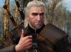 Jakt på Leshens som Geralt of Rivia i Monster Hunter: World