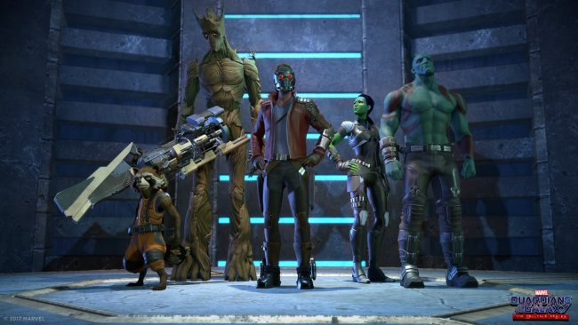 Telltales' Guardians of the Galaxy starter neste måned