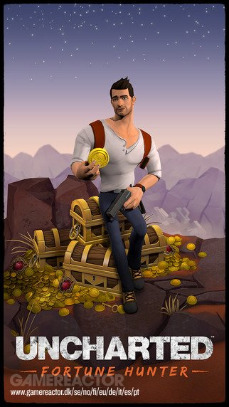 Spill Uncharted: Fortune Hunters mens du venter