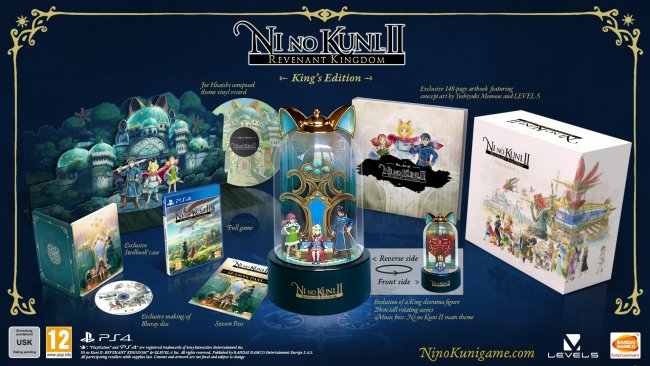 Vi pakker opp Ni no Kuni II: Revenant Kingdom - King's Edition