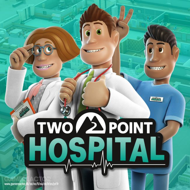 Two Point Hospital inntar PS4, Xbox One og Switch i februar