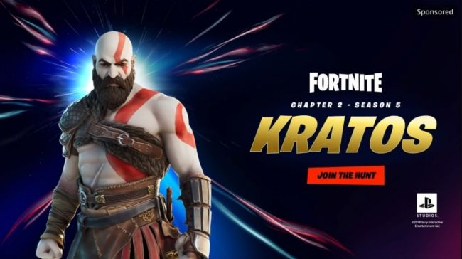 Er Kratos fra God of War klar for Fortnite?