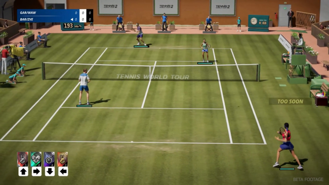 Tennis World Tour 2 slippes i september
