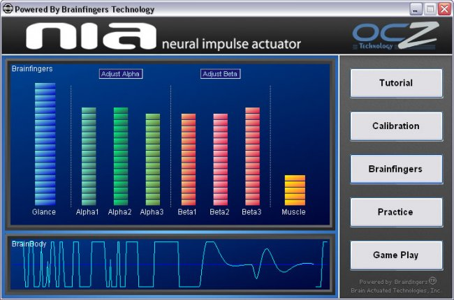 Neural Impulse Actuator