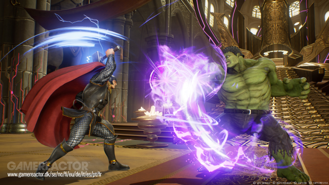 Se Thor mot Hulk i Marvel vs. Capcom: Infinite-trailer