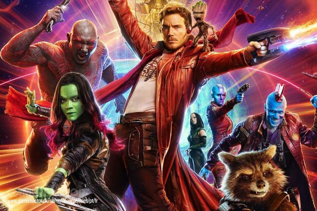 James Gunn sparkes fra Guardians of the Galaxy 3