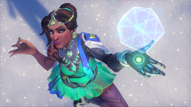 Her er Overwatch sine råe Winter Wonderland-skins