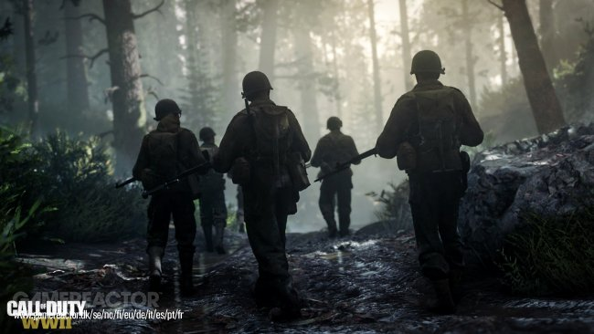 Begrenset spurt i Call of Duty: WWII