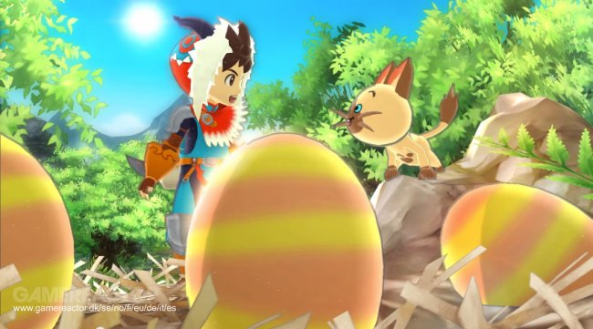 Dato spikret for Monster Hunter Stories