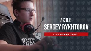 Gambit signs Ax1le to their CS:GO roster