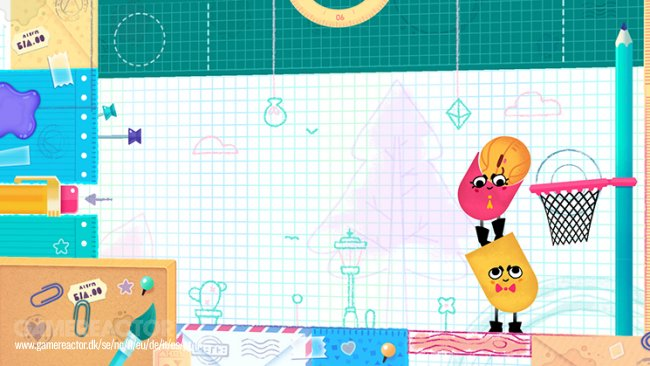 Snipperclips: Cut it out, together!