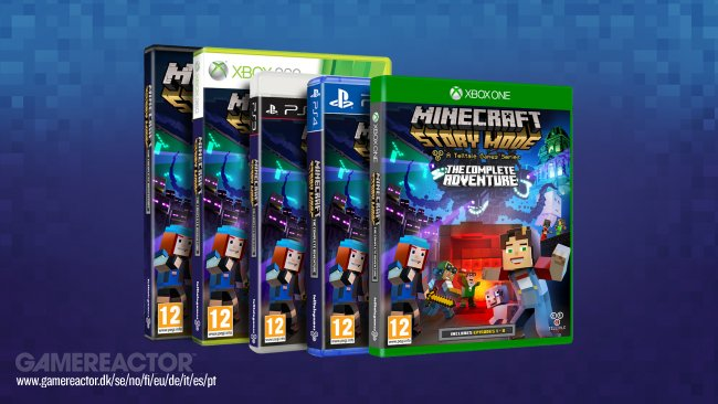Minecraft: Story Mode slippes på disk