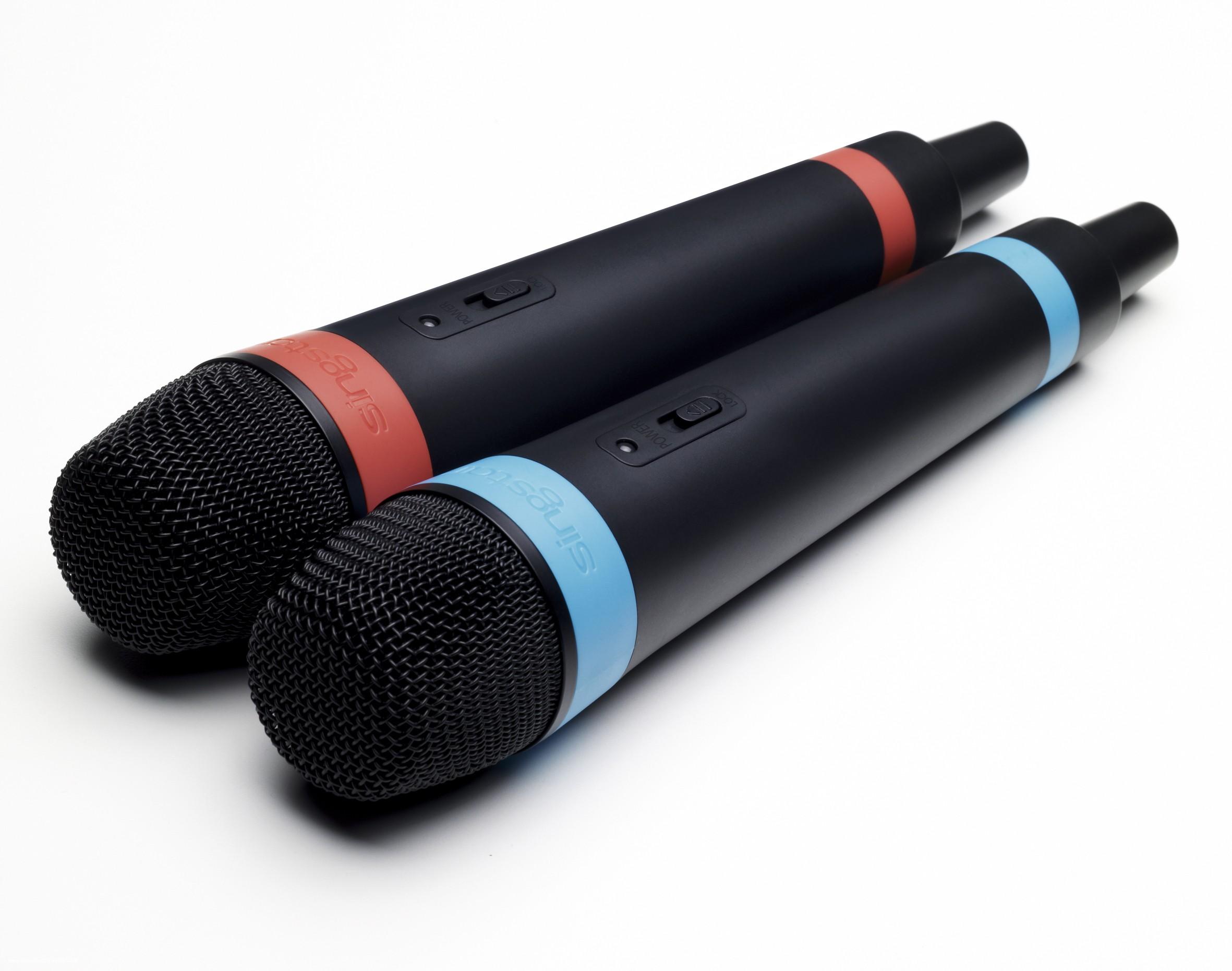 Trådløse mikrofoner til Singstar