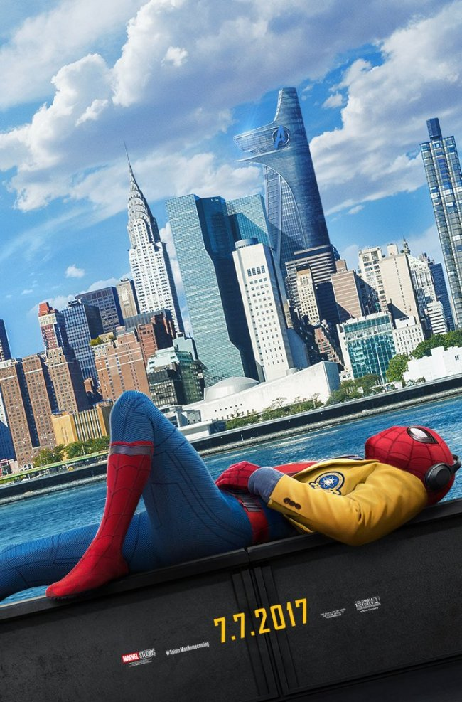 Ny plakat fra Spider-Man: Homecoming