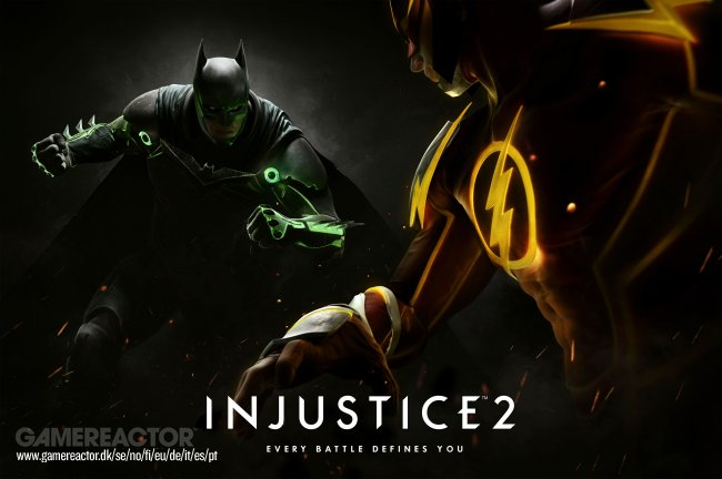 Wonder Woman og Blue Beetle annonsert til Injustice 2