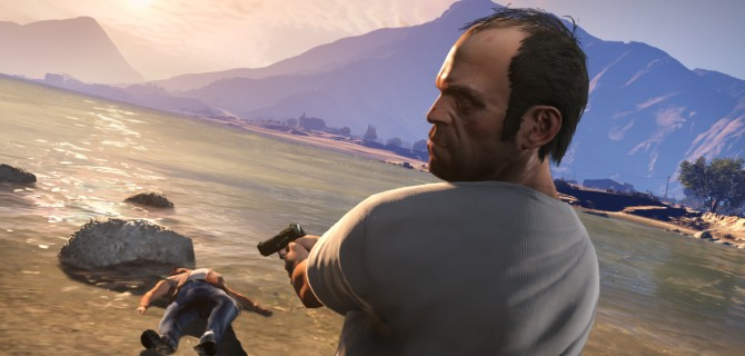 Førstepersons Grand Theft Auto V
