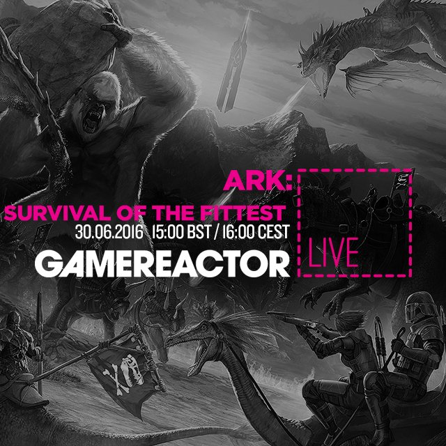 Vi spiller ARK: Survival of the Fittest live klokken 16.00