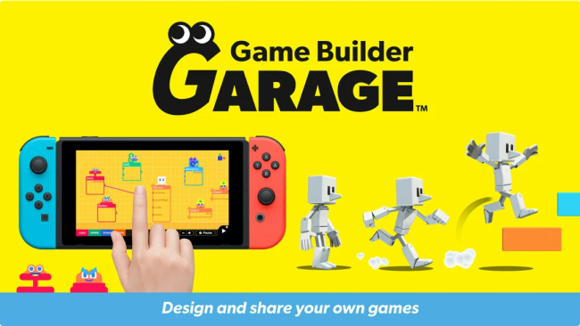 Nintendo lager Roblox-konkurrent kalt Game Builder Garage
