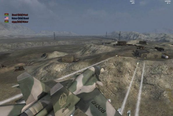 Masse fete screens fra Battlefield 2