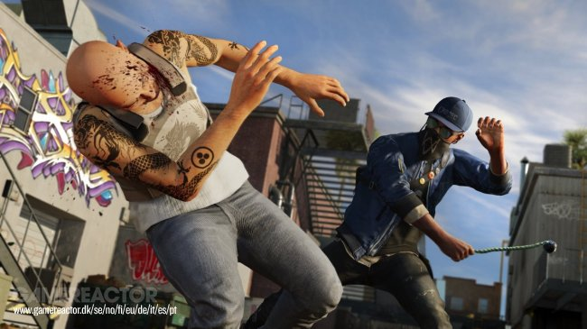 Masse gameplay fra Watch Dogs 2