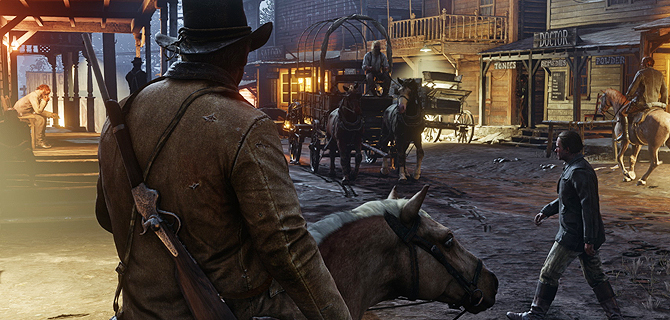 Red Dead Redemption 2-lanseringen snevres inn