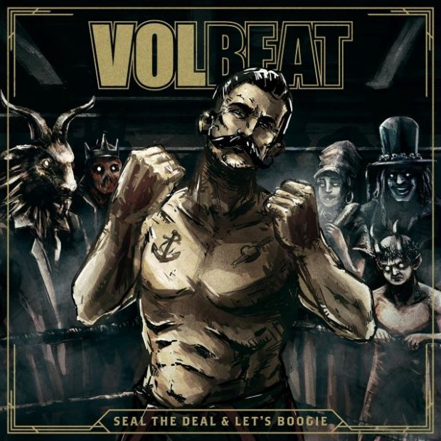 "Volbeat - ""Seal The Deal & Let's Boogie"" Anmeldelse"