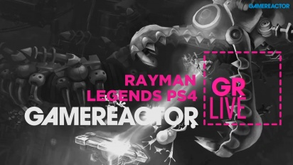 GRTV Live: Rayman Legends på PS4