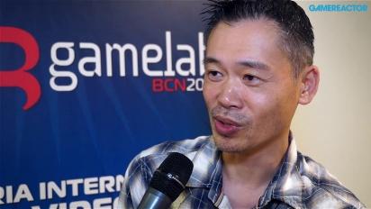 Vi møtte Keiji Inafune på Gamelab