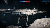 Star Wars Battlefront II - Starfighter Assault Multiplayer Gameplay