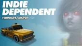 Indie Dependent - Februar og mars 2021