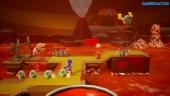 Yoshi's Crafted World - Poochy's Magma Run Gameplay