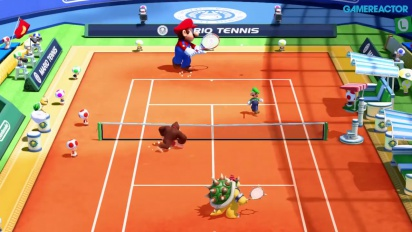 Gameplay: Mario Tennis Ultra Smash
