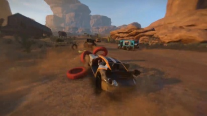 FlatOut 4: Total Insanity Gameplay Reveal Trailer