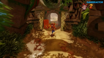 GR tester Crash Bandicoot: Nsane Trilogy på E3