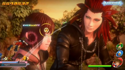Kingdom Hearts: Melody of Memory - Gameplay Compilation